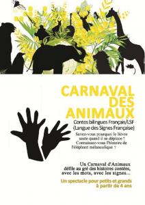 carnaval des animaux affiche